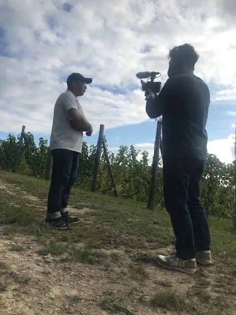 Vin Japonais (日本ワイン)映画制作プロジェクト【北海道編】アテンドしています(^^)/
