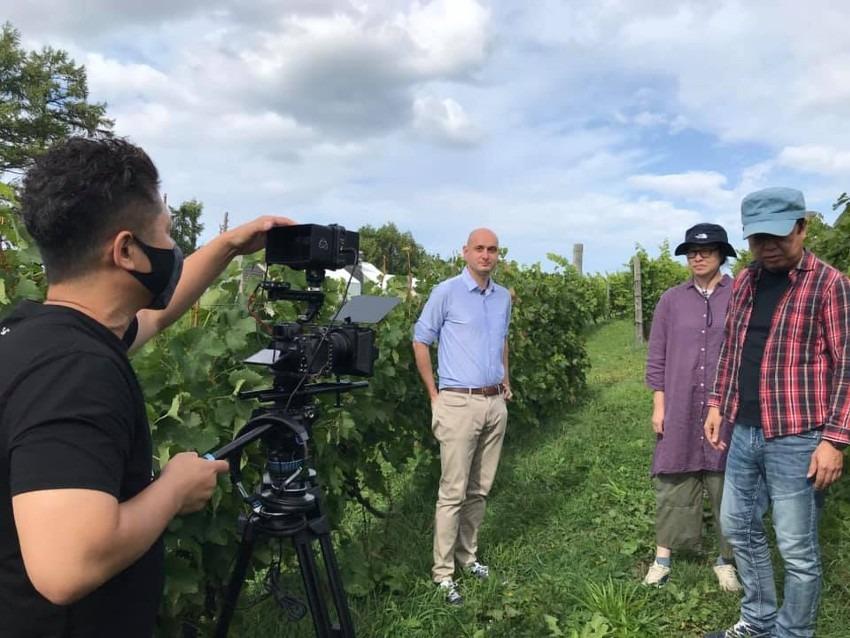 Vin Japonais (日本ワイン)映画制作プロジェクトに潜入